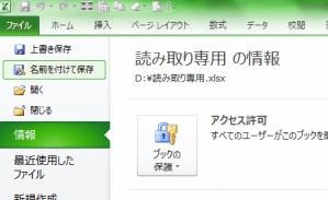 Excel_読み取り専用_1