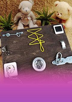 Бизиборды - развивающие игровые комплексы для детей | NEW