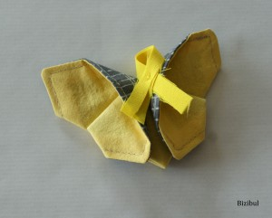 papillon origami contre l'endométriose