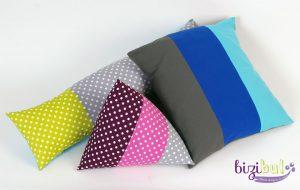 Les housses de coussin sont des projets faciles de cours de couture bizibul différentes formes proposées, fermeture portefeuille ou à boutons ou à zip. A l'atelier ou à domicile, profitez de cours de couture pas cher à Nantes (44). Vous recevrez un tuto couture gratuit après l'atelier créatif.