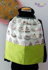Serviette élastique cousue en cours de couture Bizibul, à côté de Sainte Pazanne, Rouans et Le Pellerin (44). Un tutoriel de couture pour enfant accessible dès le niveau débutant couture.