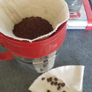 Le filtre à café en tissu réutilisable est un tutoriel de couture zéro déchet