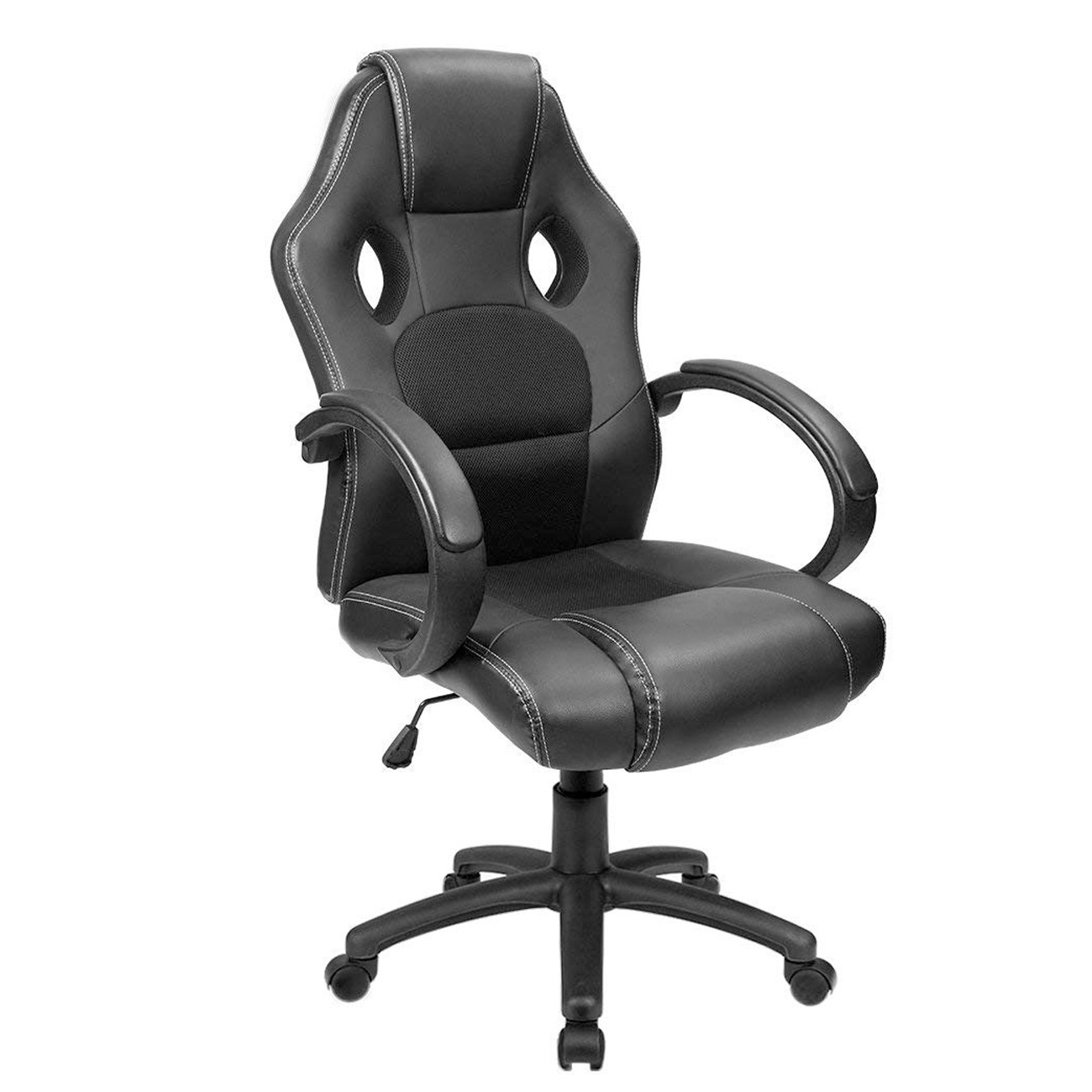 Ergonomic Chair Furmax Office Chair Desk Leather Gaming Chair High Back Ergonomic Adjustable Racing Chair Task Swivel Executive Computer Chair Headrest And Lumbar
