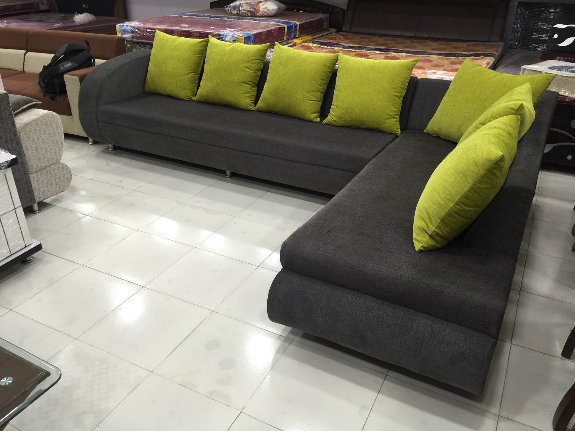 l shaped sofa designs pune how to upholster a and loveseat customised custom made manufacturer malaysia