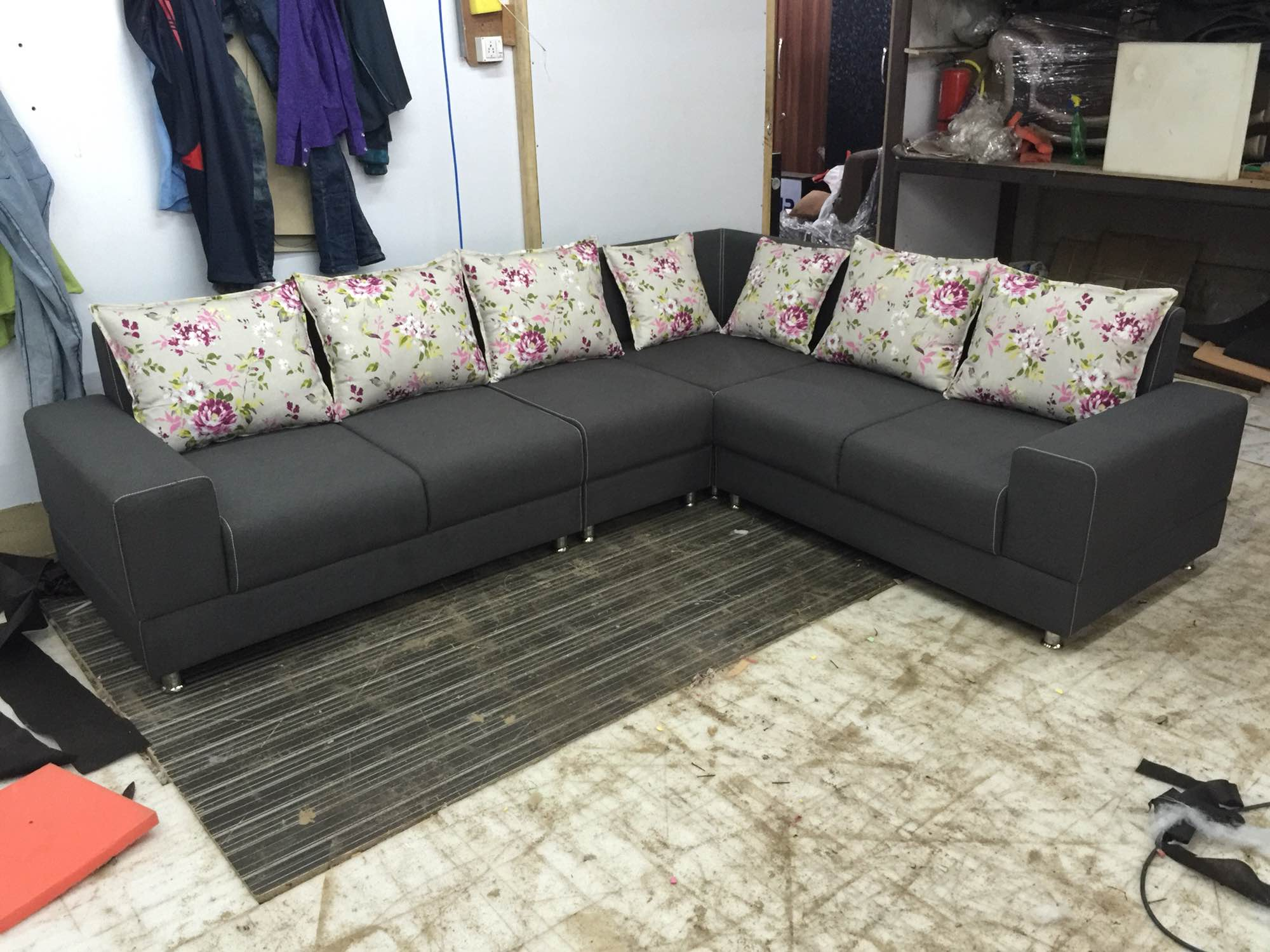 l shaped sofa designs pune sofas with removable covers customised custom made manufacturer malaysia