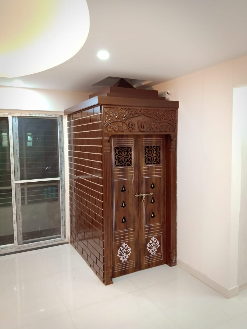 The Best Pooja Unit Designs Suits For Indian Prospace