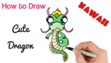 How To Draw Cartoon Dragon Bizimtube Creative Diy Ideas Crafts And Smart Tips