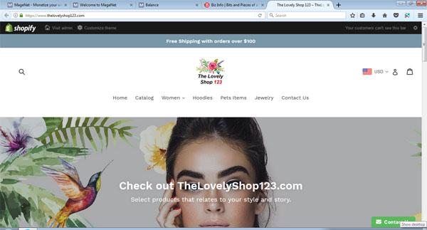 TheLovelyShop123.com - Time for Christmas Shopping Online