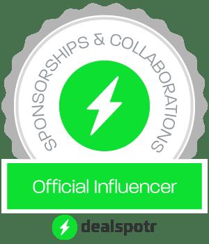 Dealspotr official influencer