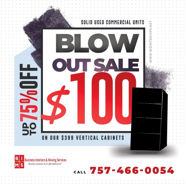 Blow Out Sale - Commercial File Cabinets