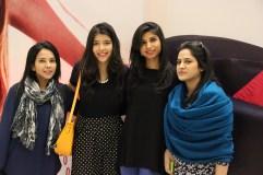 (L-R) Nisha Arsha, Mahwash & Eiman