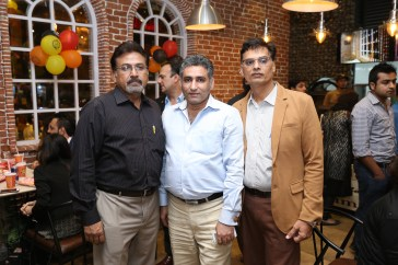 Mr Ather, Chef Tahir Chaudhary & Mr Amir Cha