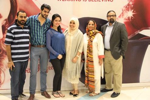 Team STARLINKS(L-R) Mohammad Assani, Turab Ramzi, Mina Ramzi, Rabia Khan, Shanaz Ramzi, Mustafa Afreedi(3)