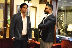 Humayun Saeed with Hassan