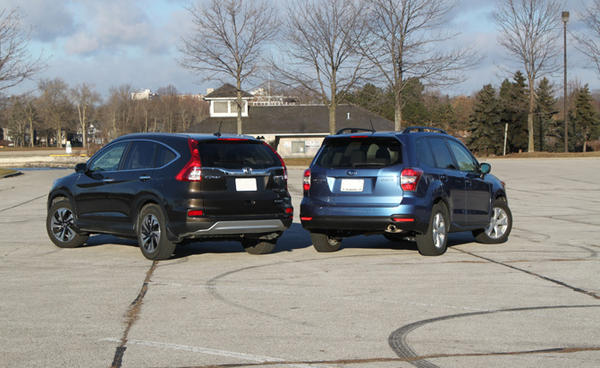 Which is the fairest Rav4 XTrail X3 Forester or CRV