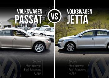 Volkswagen Jetta vs Passat