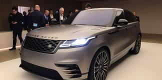 2018 Range Rover Velar Unleashed