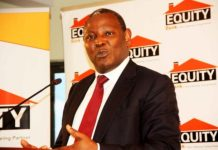 Equity Bank CEO Dr James Mwangii