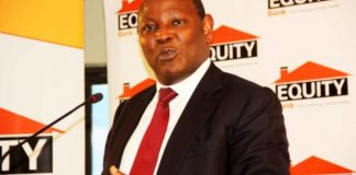 Equity Bank CEO Dr James Mwangii