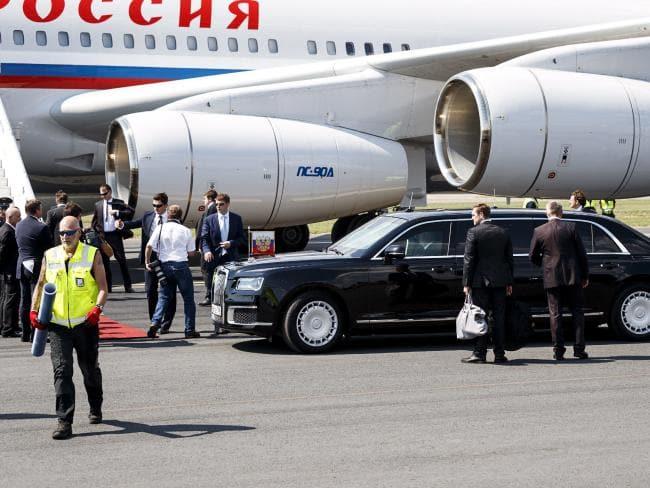 Vladimir Putin Plane