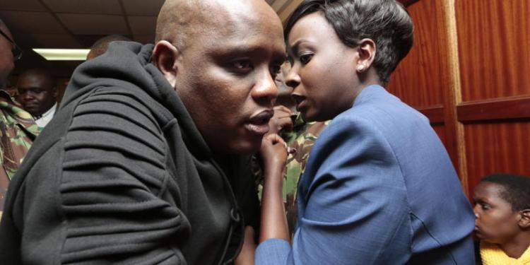 Jacque Maribe and Dennis Itumbi