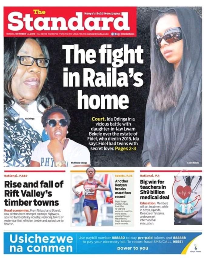 Raila Family