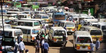 Matatus in Kenya