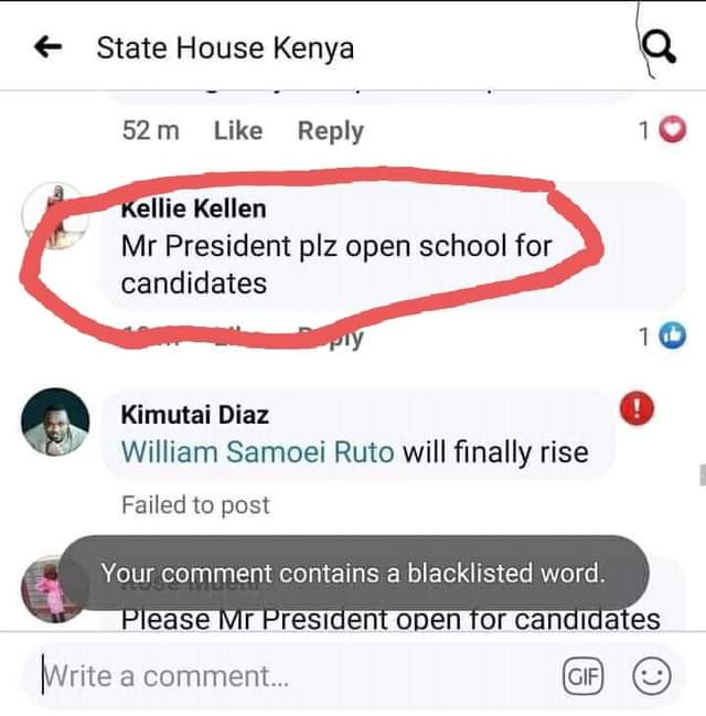 State House Facebook page