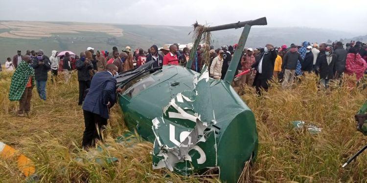 Governor Tunai Chopper Crash