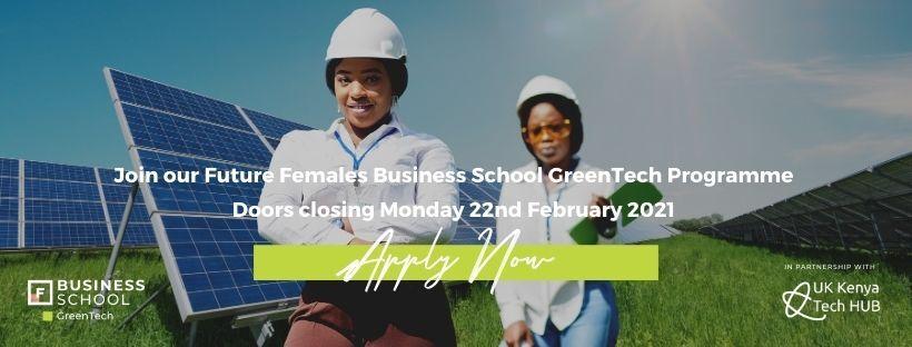 The UK-Kenya Tech Hub Supports 30 Kenyan Female GreenTech Entrepreneurs - Bizna Kenya