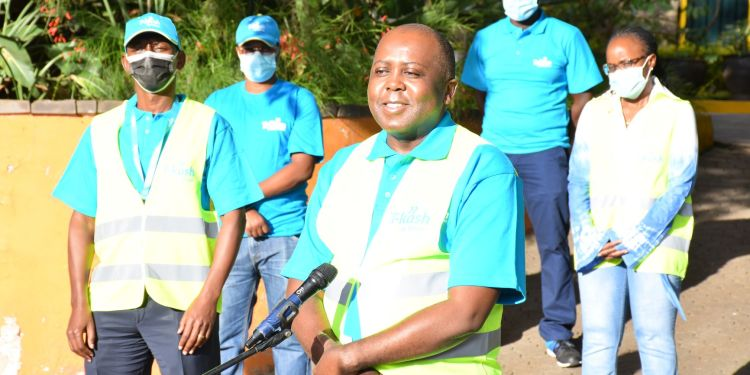 Telkom Kenya CEO Mugo Kibati during the launch at Telkom Plaza,Nairobi - Bizna Kenya