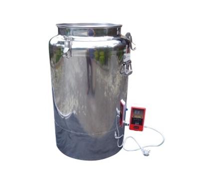 Stainless steel honey warmer