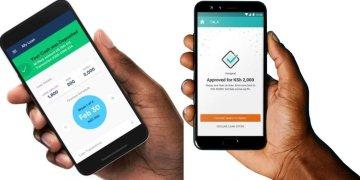 Mobile lenders in Kenya
