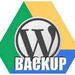 Как бекапить WordPress на Google Drive
