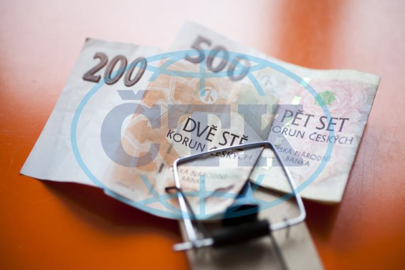 Długi czeskich gospodarstw domowych wobec banków wzrosły w czerwcu do 1,693 biliona koron