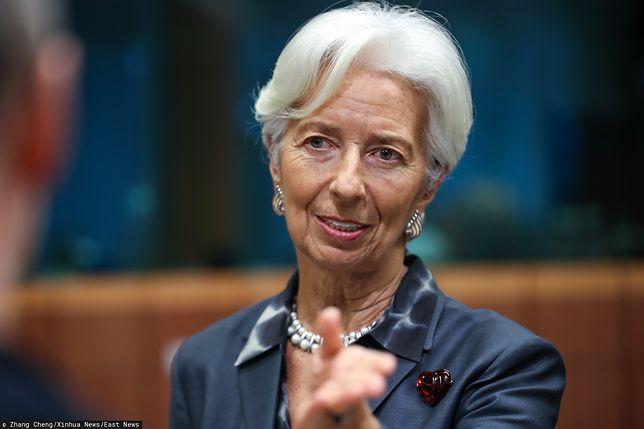Koronawirus może się odbić na światowej gospodarce. Szefowa EBC zabiera głos