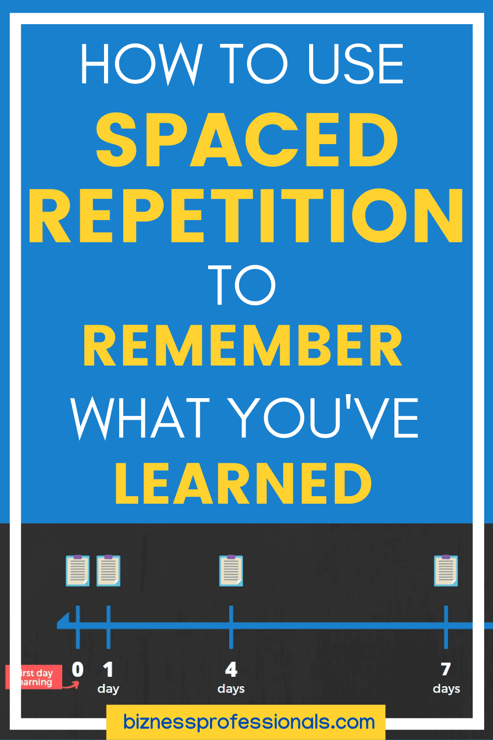 how to use spaced repetition to remember