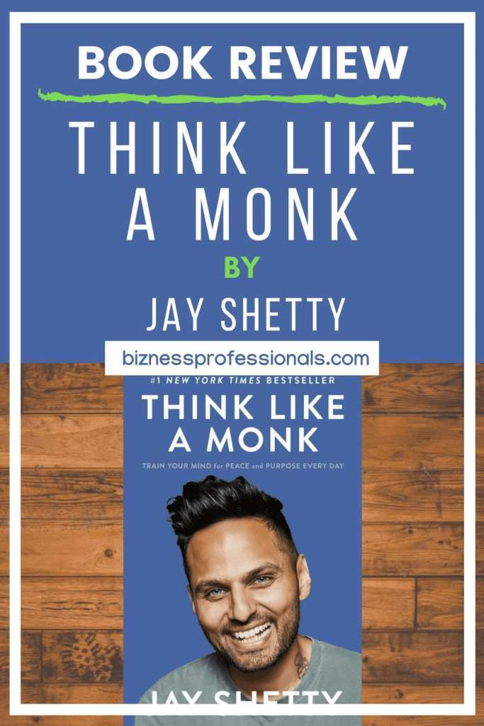 think like a monk book review and summary