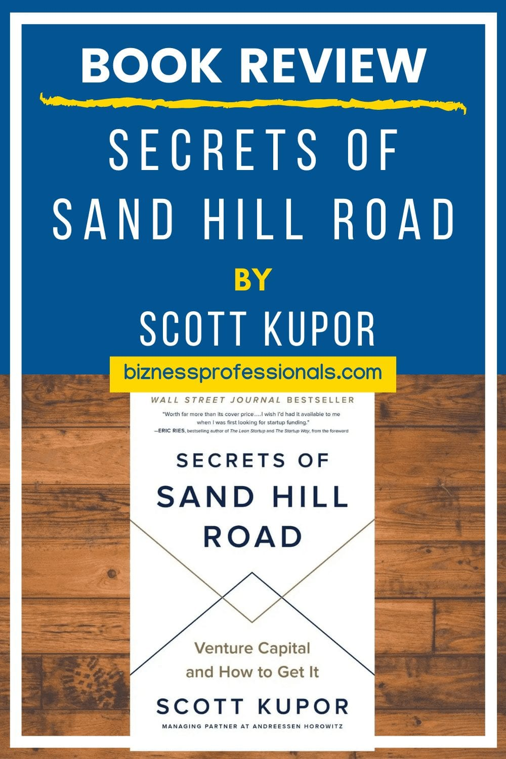 book review on secrets of sand hill road