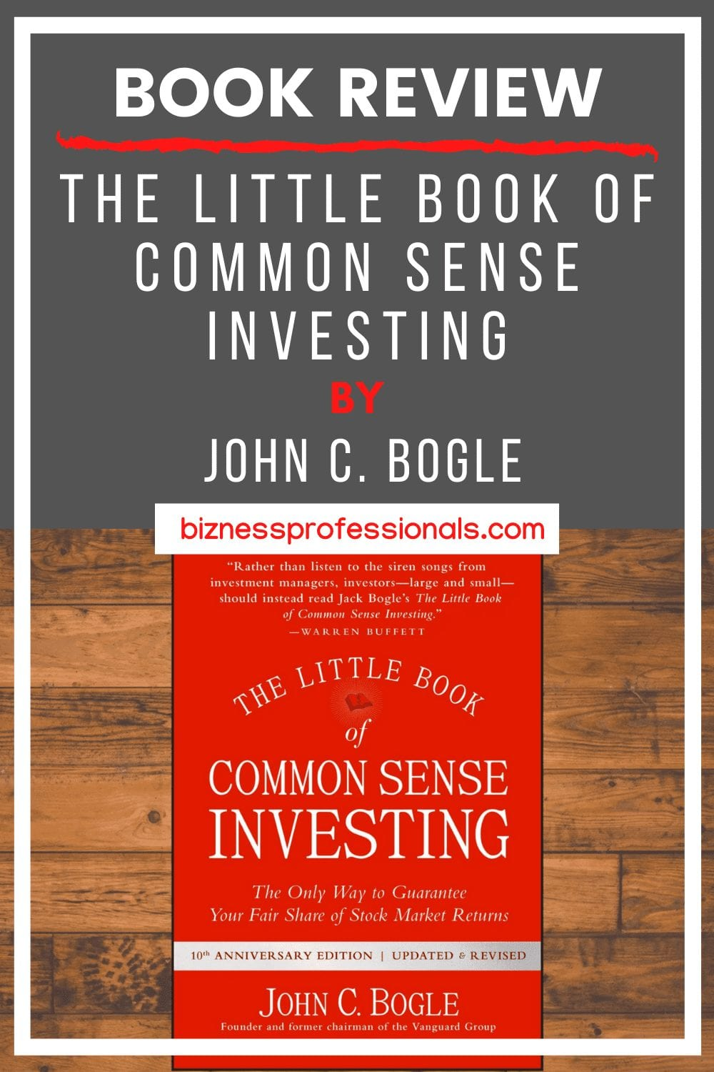 book review little book of common sense investing