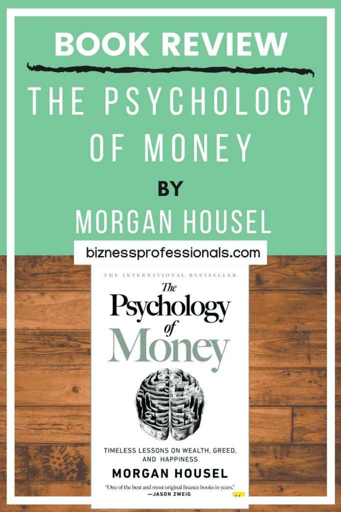 book review on the psychology of money