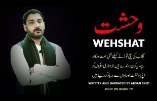 Wehshat I وحشت I Written and Narrated by Ahsan Syed I Bizon TV