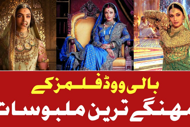 Top 5 Most Expensive Costumes in Bollywood Films