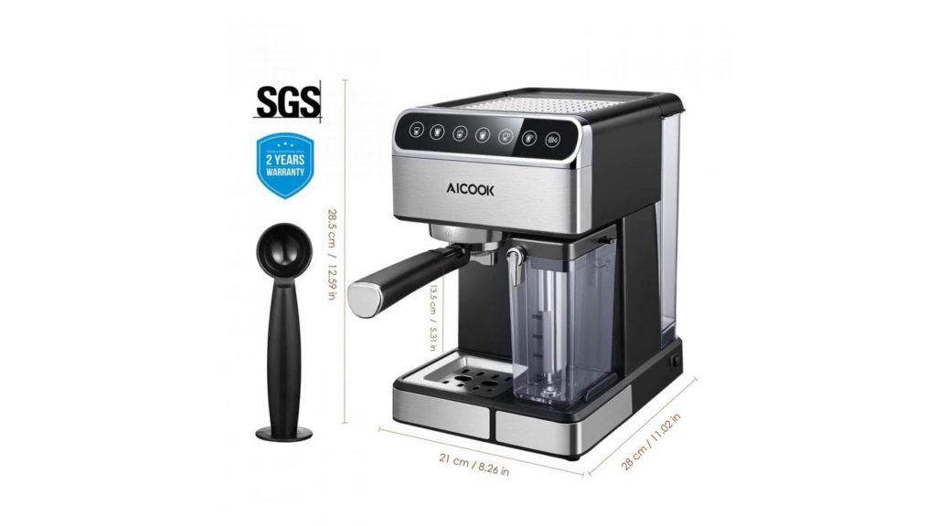 Aicook Espresso Machine Barista Espresso Coffee Maker with One Touch Digital Screen – Business Domination Opportunity