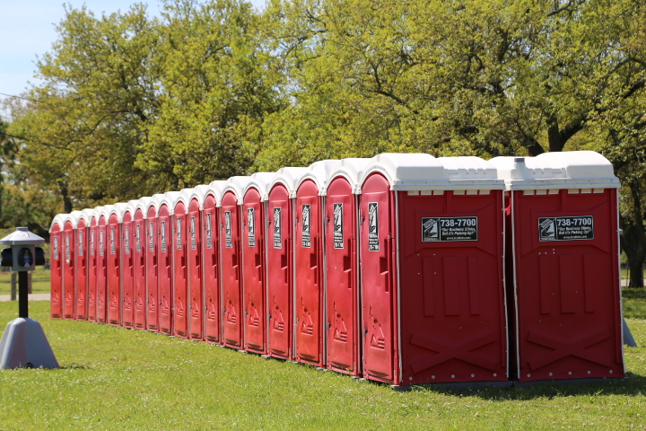 event portable restrooms