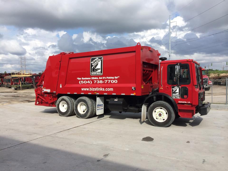 back Loading Truck
