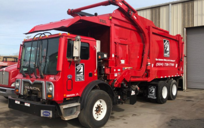 River Parish Disposal Front Loader
