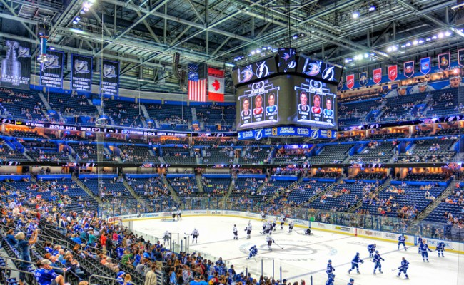 How The Tampa Bay Lightning Is Improving Hockey Games With