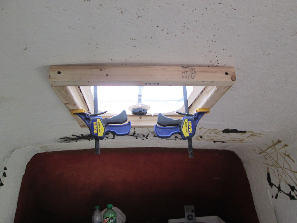 Installing a Skylight / Insulating the Doors
