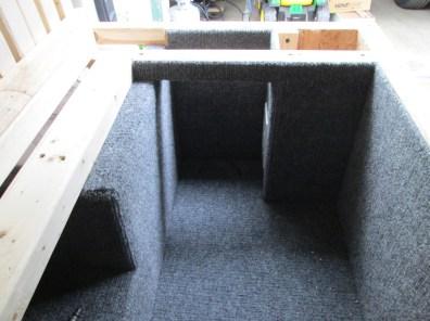 Finished carpeting